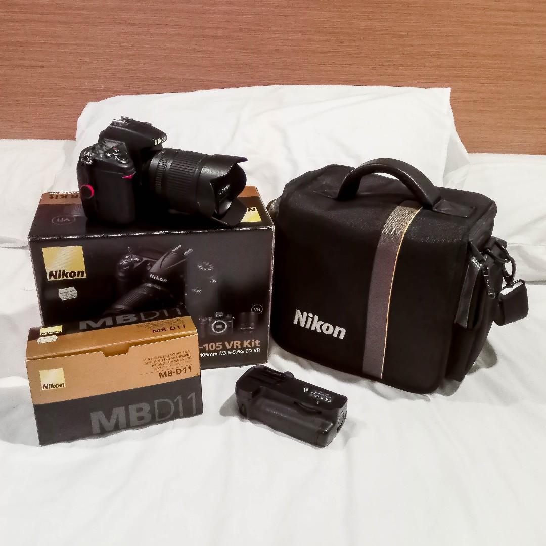Nikon D7000 + 18-105MM + MB-D11 Grip