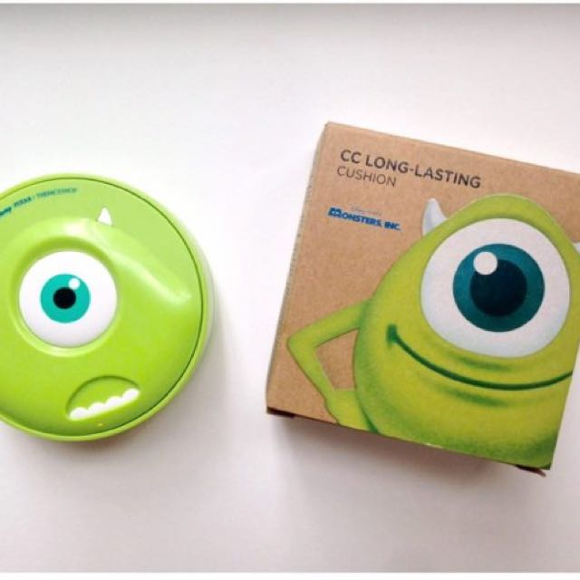 (NO NEGO) The Face Shop CC Long-lasting Cushion (Monster, Inc. Mike)