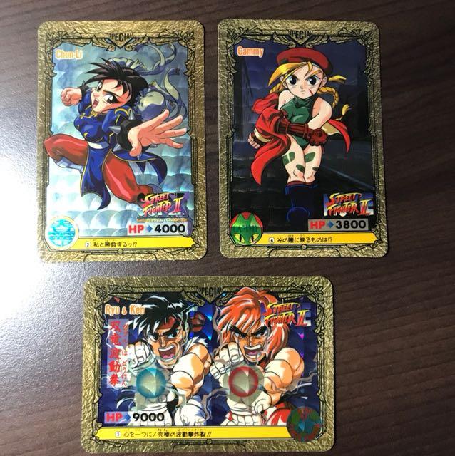 Original Vintage Bandai For Capcom Street Fighter Ii Movie Prism