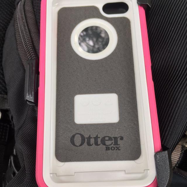 Otter box 保護殼 定價1280$ 粉紅色 衝評價 用一杯全家咖啡交換 交換禮物