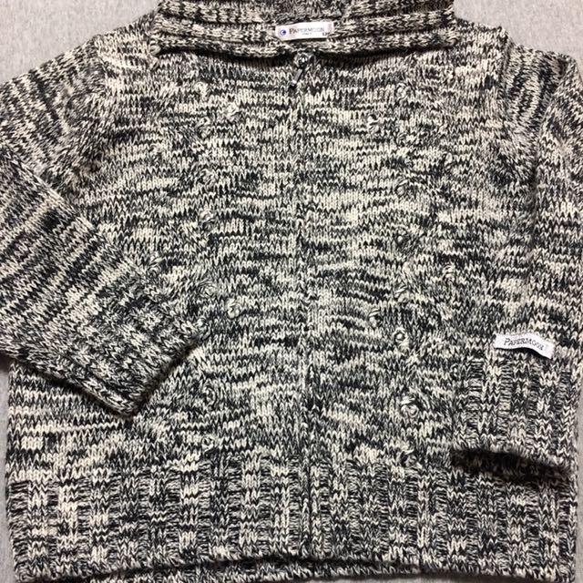 Papermoon女童毛衣外套120cm