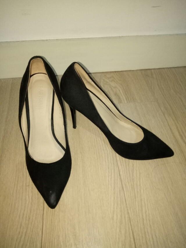Parisian Black Heels, Women's Fashion