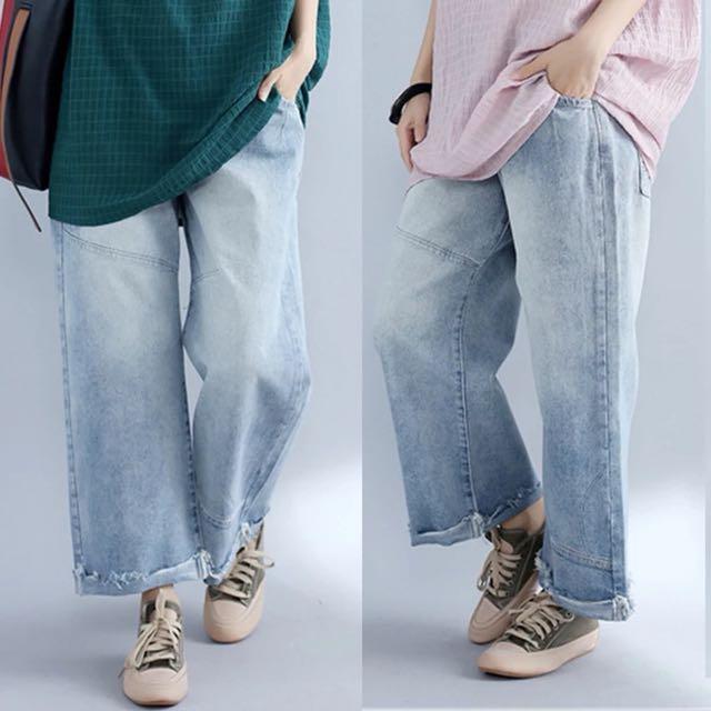 481c544a695 Plus Size Autumn Women s leisure pants Korean version of the loose ...