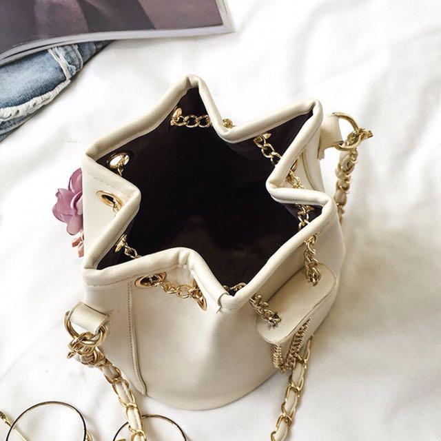 (+postage)Floral Bucket Bag