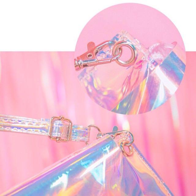 (+postage)Hologram Metallic Shine Bag