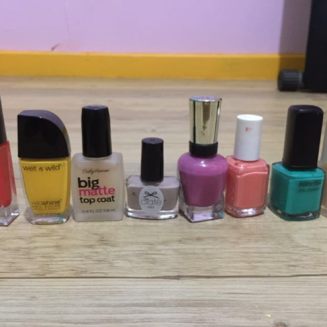 Preloved Branded Nail Polish