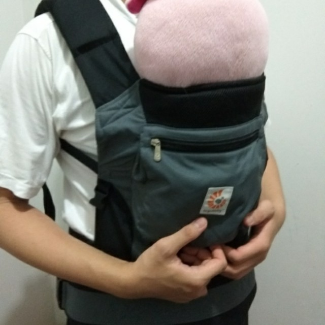Pre-loved Ergobaby Carrier Charcoal Black