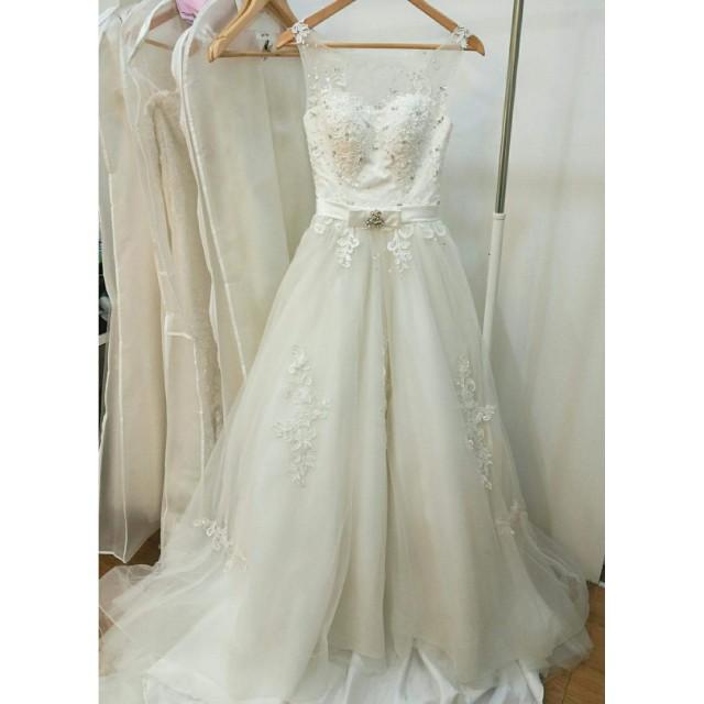 Premium wedding gown clearance, Women\'s Fashion, Clothes, Dresses ...