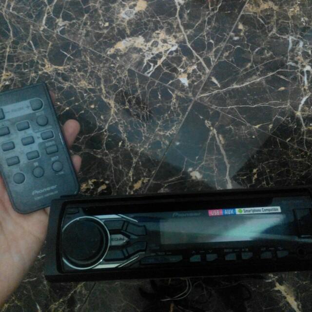 Radio ZAP 1 set dengan Speaker