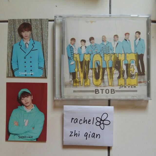 [READY STOCK] BTOB Movie Japanese Regular ver Album