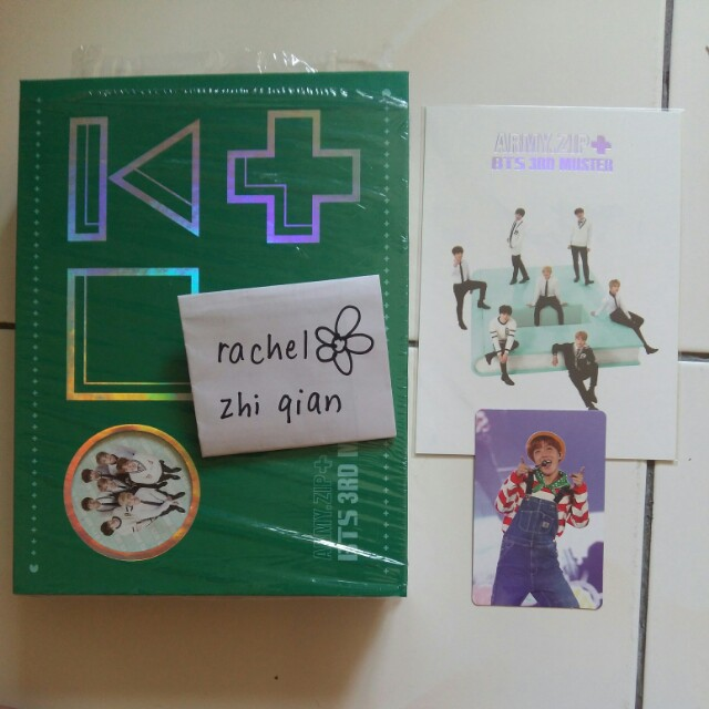 [READY STOCK] BTS 3RD MUSTER ARMY.ZIP+