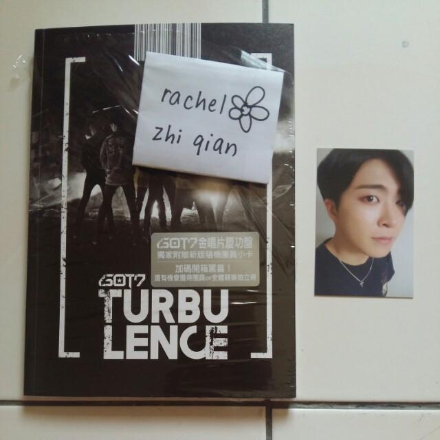 [READY STOCK] GOT7 Flight Log: Turbulence Taiwanese Edition (Special Celebration Edition)