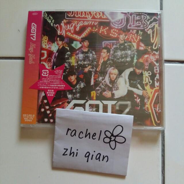 [READY STOCK] GOT7 Hey Yah Japanese Regular ver Album