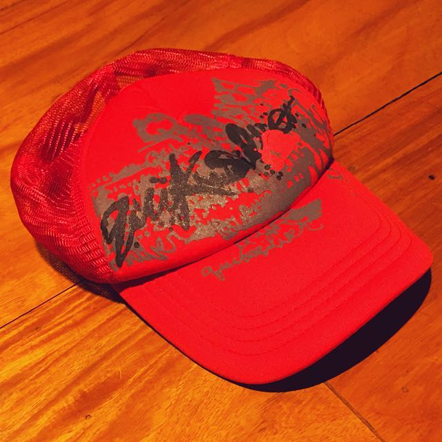 Red Quicksilver Cap