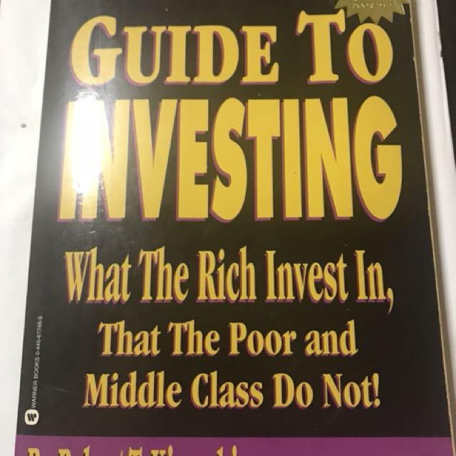 Rich Dad Guide To Investing By Robert Kiyosaki Books Stationery