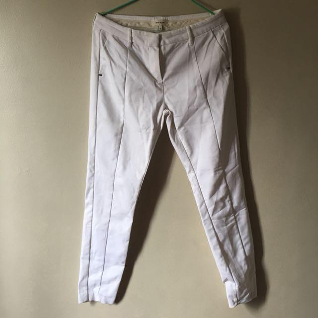 River Island White Cigarette Pants