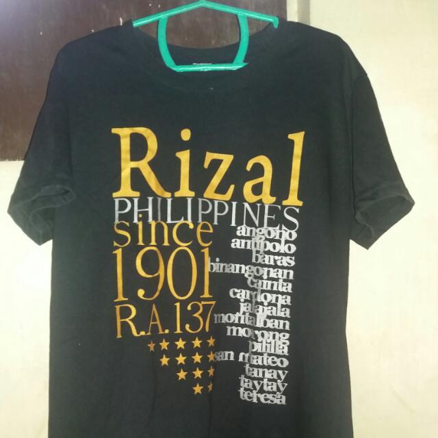 Rizal Shirt Small Black