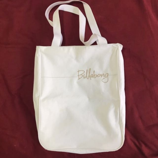 SALE! 💝 Billabong White Beach Bag