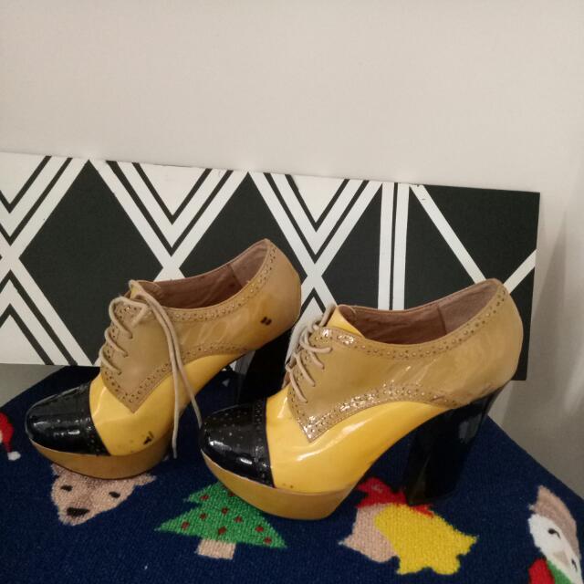Sepatu Jaman Now... Booth,  Defect pemakaian,  Yang Lain Oke Buangettttt, Size 38