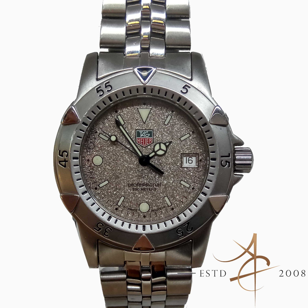 0b421b0f507 Tag Heuer Professional WD1211-K-20 Quartz Watch
