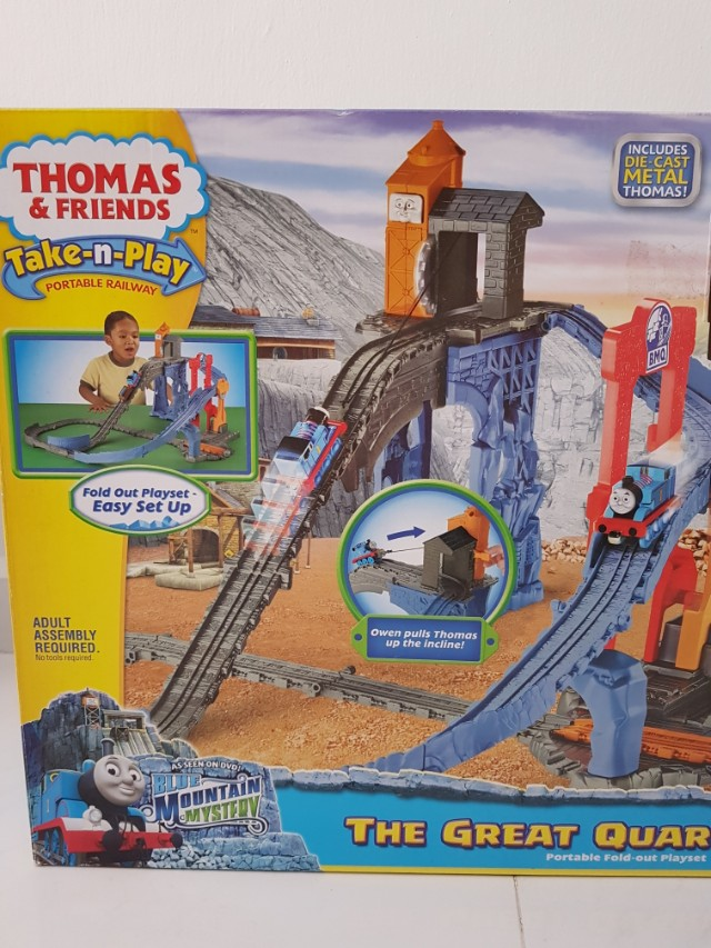 Thomas Friends Take N Play The Great Quarry Climb Babies Kids