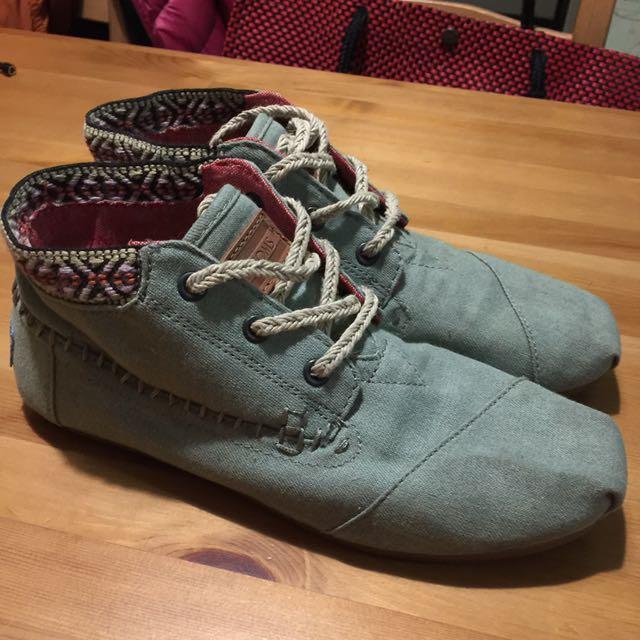 Toms民族風短靴
