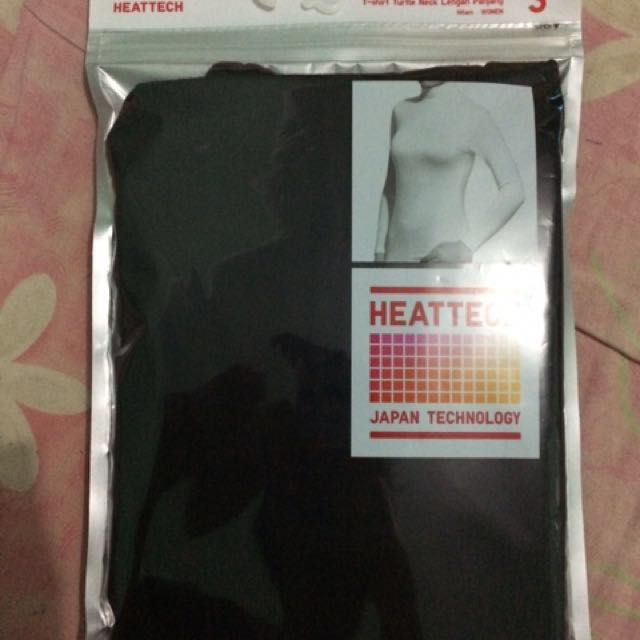 T-shirt tutle neck lengan panjang uk S (heattech uniqlo)