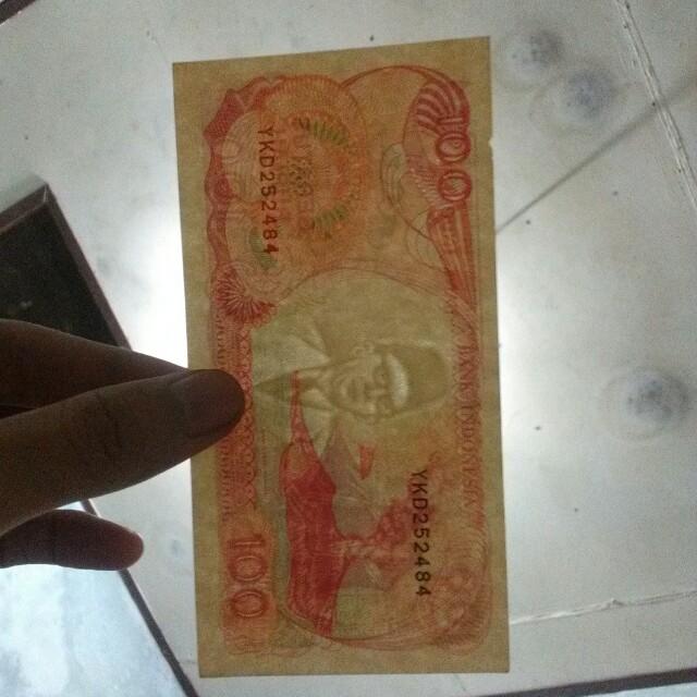Uang Kuno Rp 100 th 1992