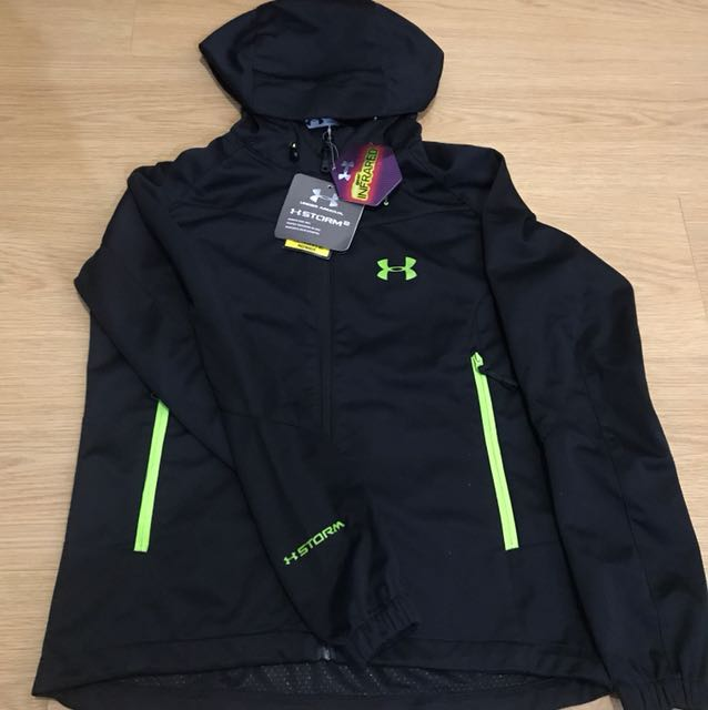 Under Armour Storm 2 Unisex Jacket - Black (Small, XL)