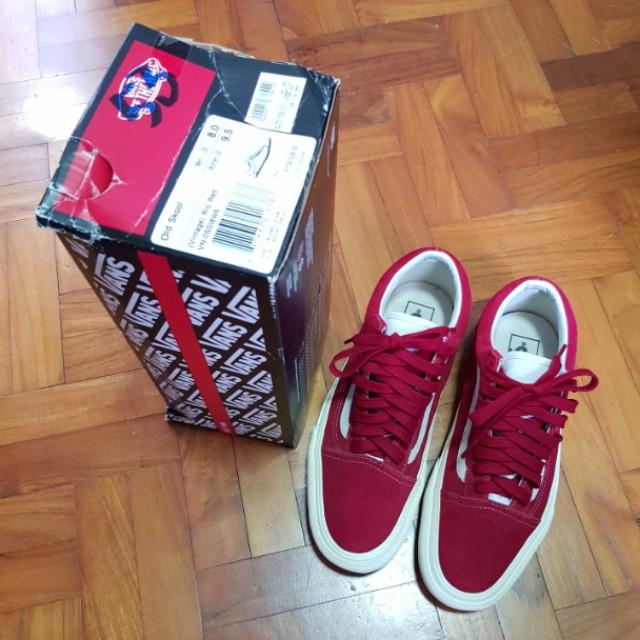 Us8Men's Old Suede Vans Rio Red Skool Vintage Fashion yN8nwOm0vP