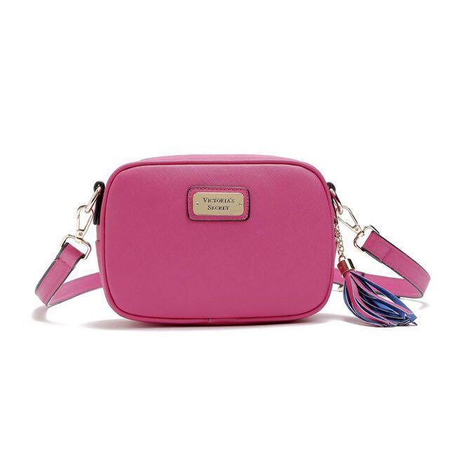 Victoria's sec sling bag(hot pink)