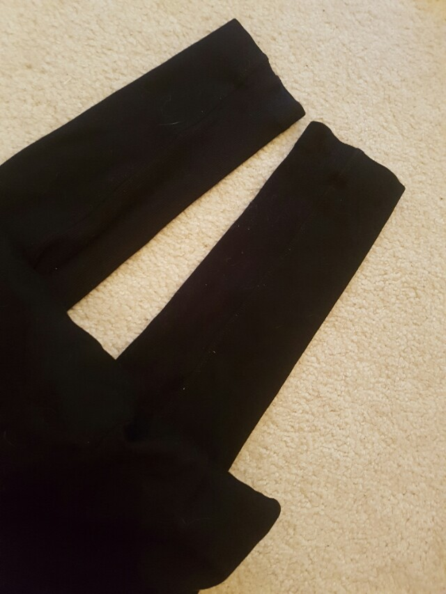 Whichery black tights