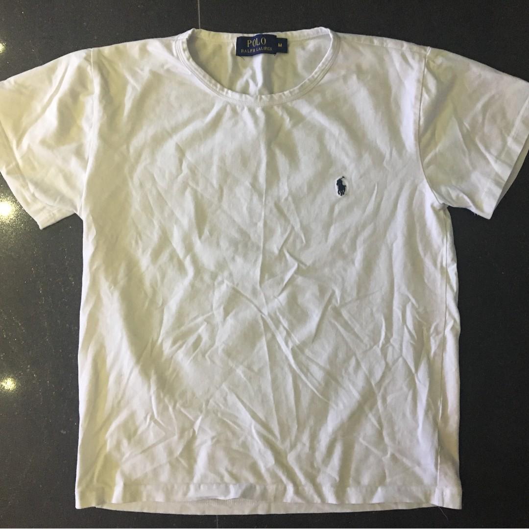 White fake Ralph Lauren Tshirt