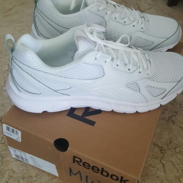 1a609925720 White Reebok School Shoes Men S Fashion Footwear On Carou