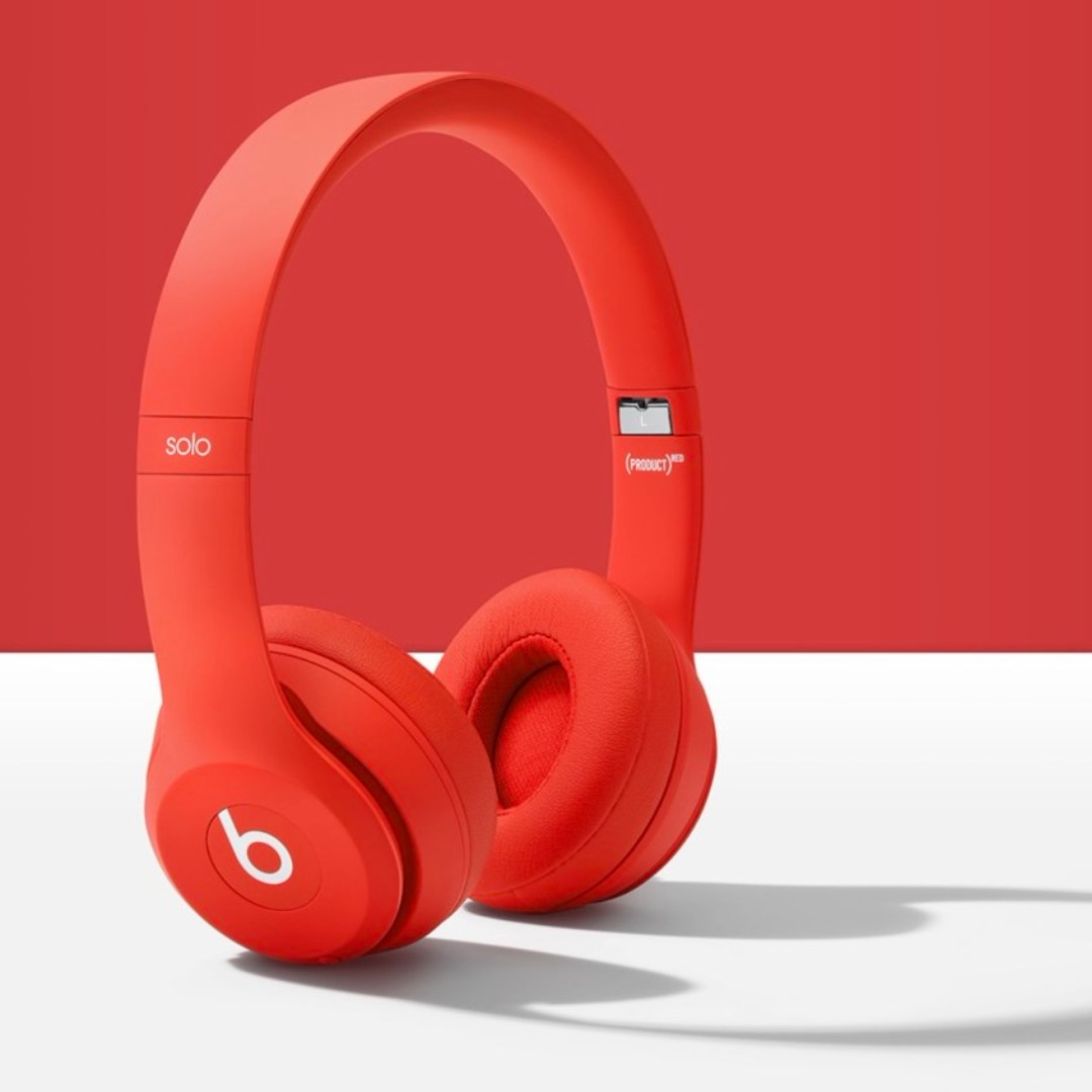 Image result for beats solo 3 product red