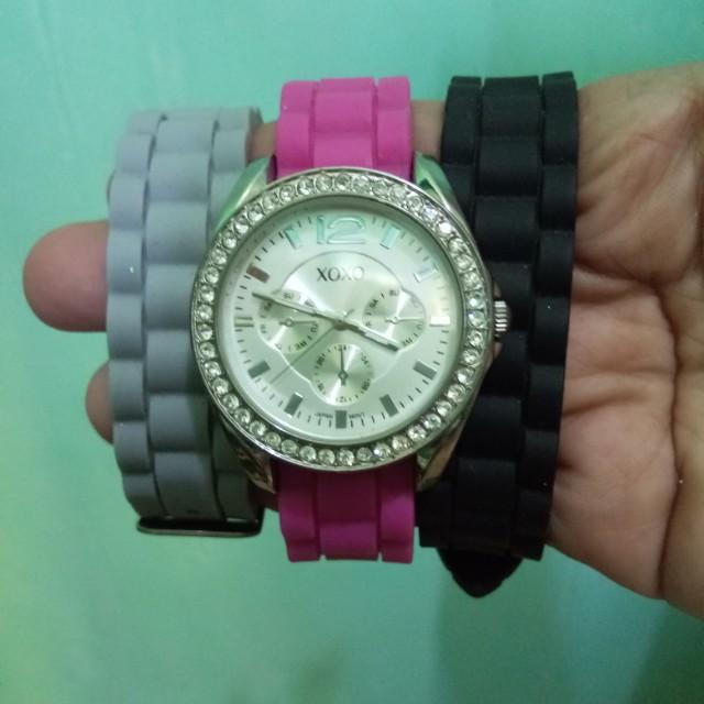 SALE! XOXO watch with assorted bracelets