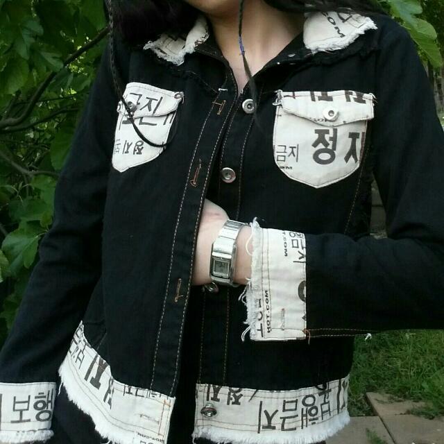 y2k Denim Jacket
