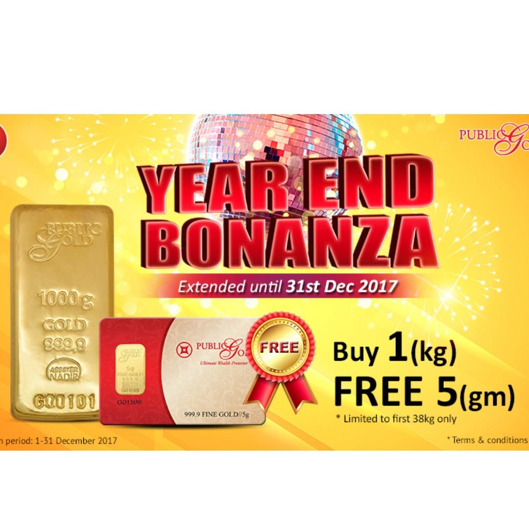 Year End Bonanza