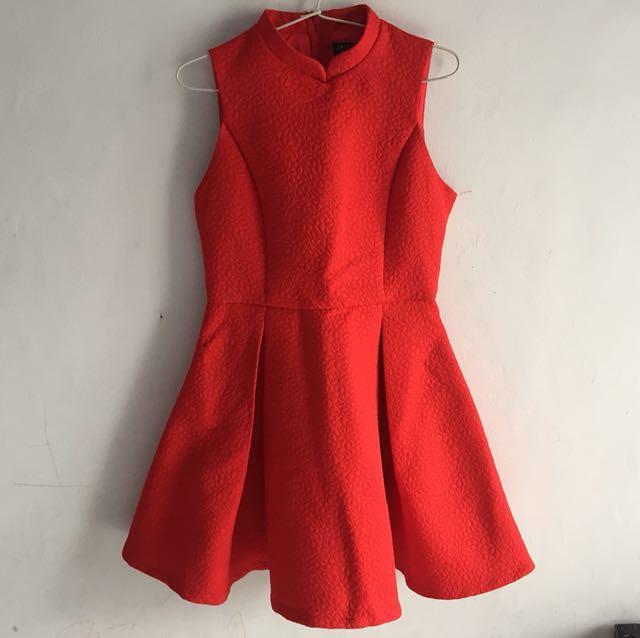 Zalora Premium Red Dress