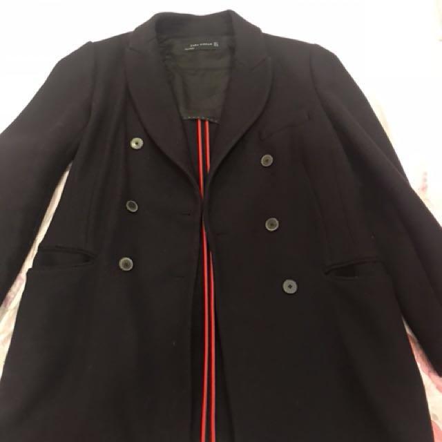 Zara 大衣 外套 西裝外套