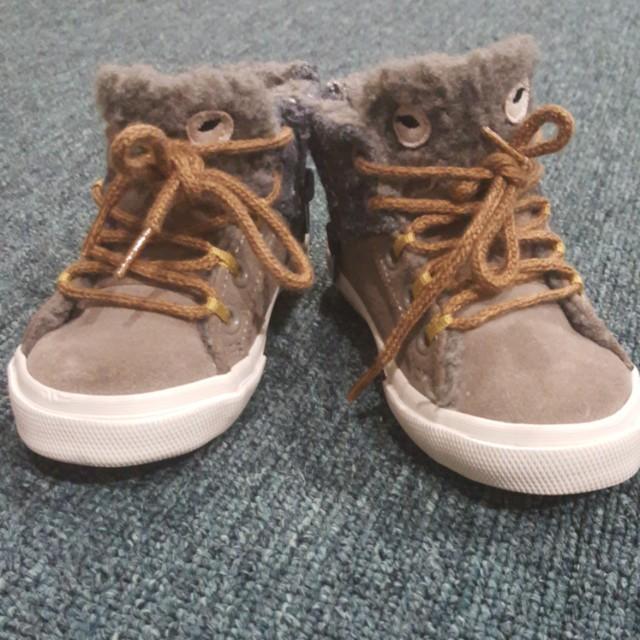 Zara baby highcut boots