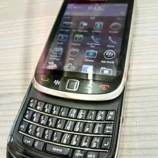 BlackBerry torch 9800 touch and type