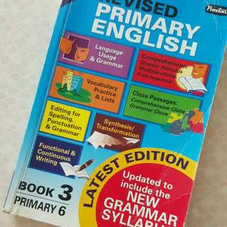 FREE NM📬Revised Primary English Book 3 Primary 6