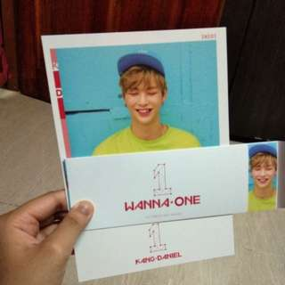 wanna one individual cover