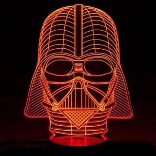3D LED Star Wars Inspired Night Lights