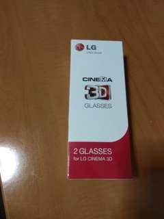 2X LG 3D Glasses