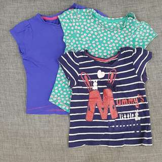 Mothercare t-shirt, set of 3