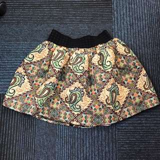 Mini Skirt Etnik / Rok mini