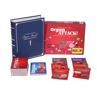 Organ Attack Educational Card Game