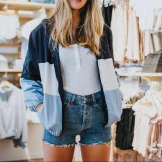 Brandy Melville Krissy Windbreaker Jacket